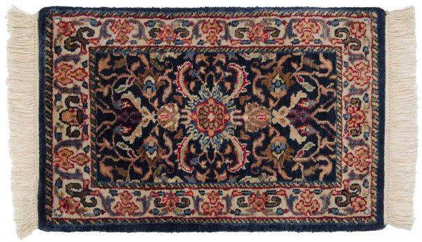 1x2 bijar blue oriental rug 039199