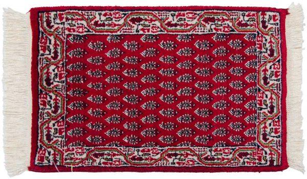 1x2 persian burgundy oriental rug 037712