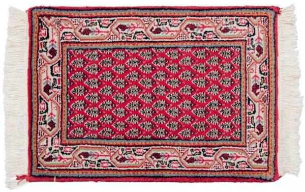 1x2 persian rose oriental rug 037720