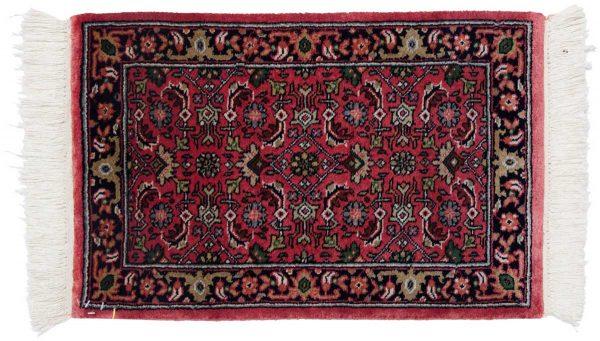 1x2 tabriz red oriental rug 038787