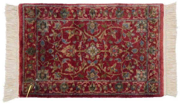 1x2 tabriz red oriental rug 038994