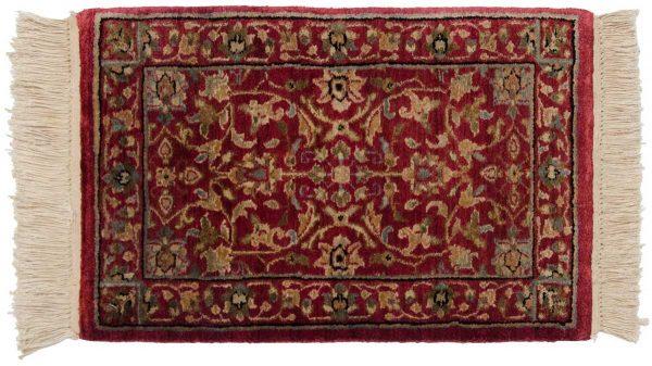 1x2 tabriz red oriental rug 039194
