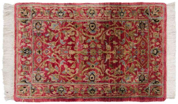 1x2 tabriz red oriental rug 046539