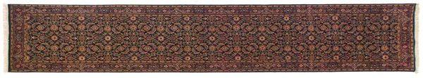 2x12 herati black oriental rug runner 030221