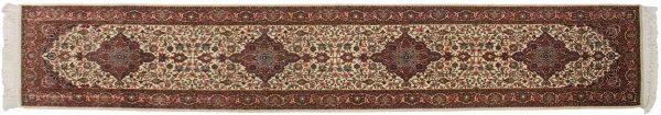 2x12 kashan ivory oriental rug runner 045960