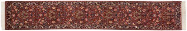 2x12 kashan red oriental rug runner 031195