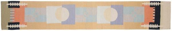 2x12 nicholls multi color oriental rug runner 012835