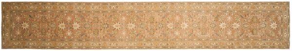 2x15 chobi brown oriental rug runner 043829