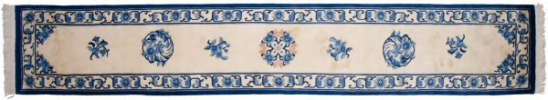 2x15 peking ivory oriental rug runner 018509