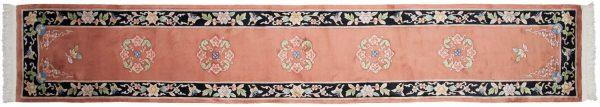 2x15 peking rust oriental rug runner 018618