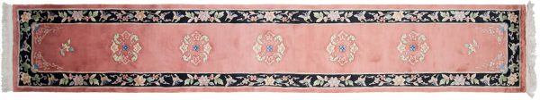 2x15 peking rust oriental rug runner 018883