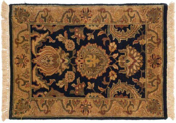 2x3 jaipur black oriental rug 043840
