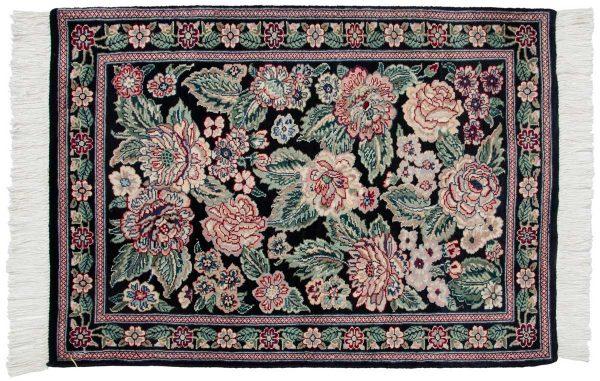 2x3 persian black oriental rug 025987