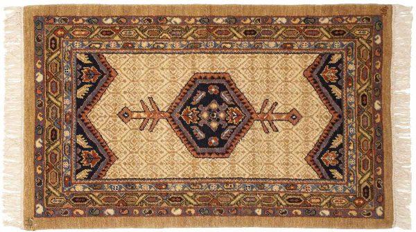 2x4 hamedan ivory oriental rug 020903