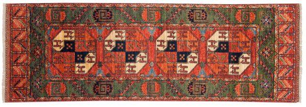 2x7 ersari rust oriental rug runner 048857