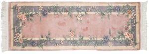 2×7 Vintage Floral Oriental Rose Hand-Knotted Rug Runner