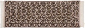 2×7 Aubusson Oriental Ivory Hand-Knotted Rug Runner