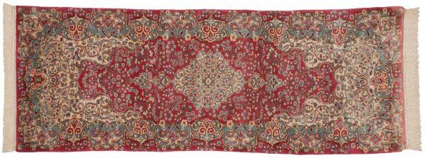 2x8 persian kerman rose oriental rug runner 017540