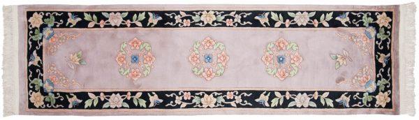 2x9 peking beige oriental rug runner 018486