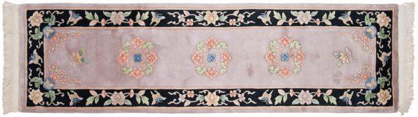 2x9 peking beige oriental rug runner 018573