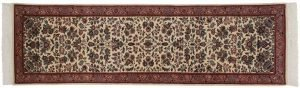 3×10 Tabriz Oriental Ivory Hand-Knotted Rug Runner