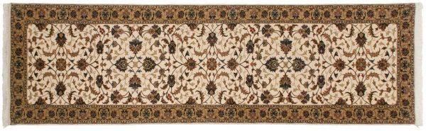 3x10 kashan ivory oriental rug runner 026823