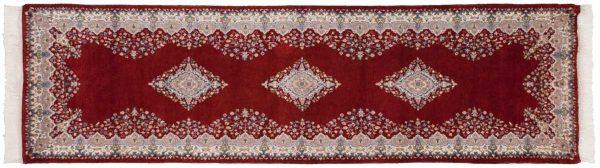 3x10 kerman red oriental rug runner 016714