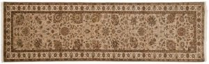 3×10 Mahal Oriental Beige Hand-Knotted Rug Runner