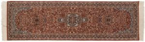 3×10 Vintage Persian Oriental Rust Hand-Knotted Rug Runner