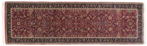 3×10 Tabriz Oriental Red Hand-Knotted Rug Runner