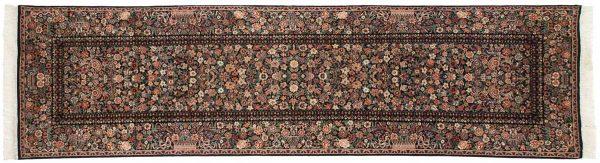 3x11 aubusson black oriental rug runner 026149