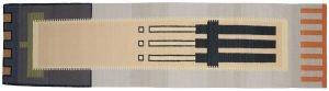 3×11 Vintage Nicholls Oriental Multi Color Kilim (Flatweave) Rug Runner