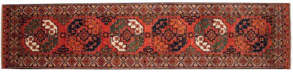 3x12 ersari rust oriental rug runner 048860