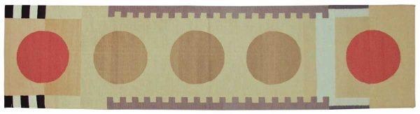 3x12 nicholls multi color oriental rug runner 012865