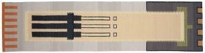 3×12 Vintage Nicholls Oriental Multi Color Kilim (Flatweave) Rug Runner