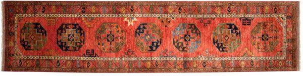 3x13 ersari rust oriental rug runner 048866