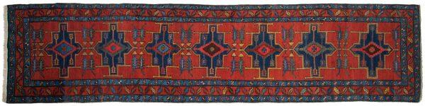 3x14 persian atraf red oriental rug runner 035055