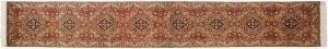 3×14 Vintage Persian Oriental Beige Hand-Knotted Rug Runner