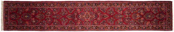3x15 persian sarouk rose oriental rug runner 034680