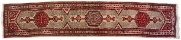 3x15 persian serab beige oriental rug runner 035229