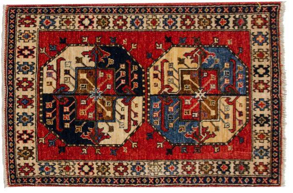 3x4 ersari rust oriental rug 048892