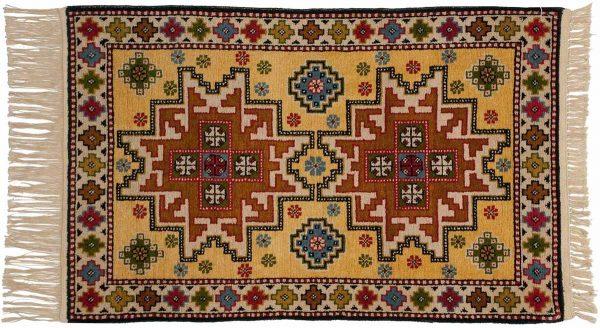 3x4 kazak gold oriental rug 043151