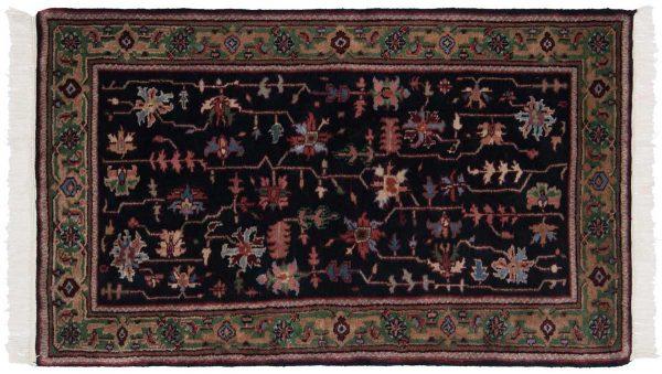 3x5 black oriental rug 036177