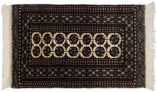 3x5 bokhara ivory oriental rug 023199
