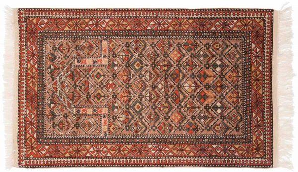 3x5 caucasian mauve oriental rug 027578 rotated