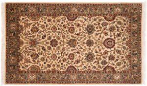3×5 Jaipur Oriental Beige Hand-Knotted Rug