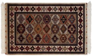 3×5 Shirvan Oriental Multi Color Hand-Knotted Rug
