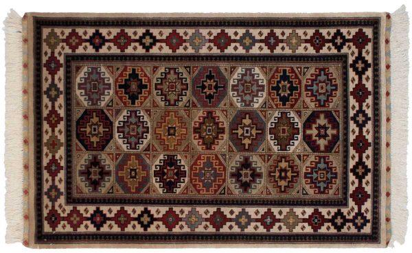 3x5 shirvan multi color oriental rug 038849