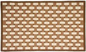 3×5 Soumak Oriental Brown Soumak Weave Rug