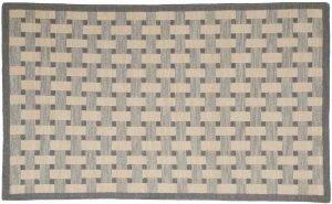 3×5 Soumak Oriental Grey Soumak Weave Rug